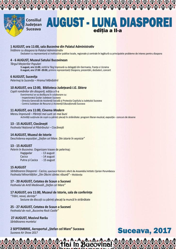 Agenda Suceava