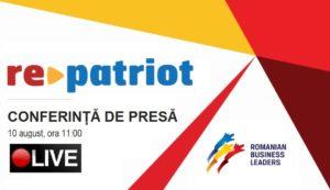 Conferinta de presa RePatriot Live