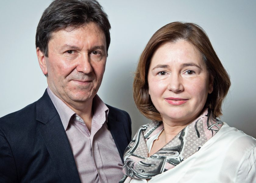 Daniela si Liviu Apolozan